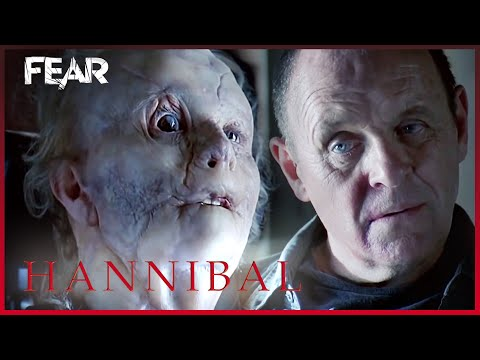 Mason Verger and Hannibal Come Face To Face | Hannibal