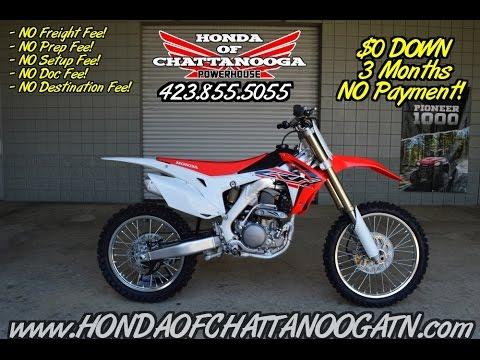2016 honda crf250r review of specs dirt bike sale tn for Honda dealerships in alabama
