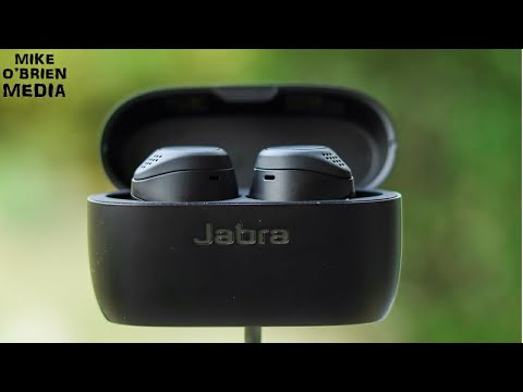 NEW JABRA ELITE 75t Wireless Earbuds [Powerful Bass, 28hr Battery, All Day Comfort]