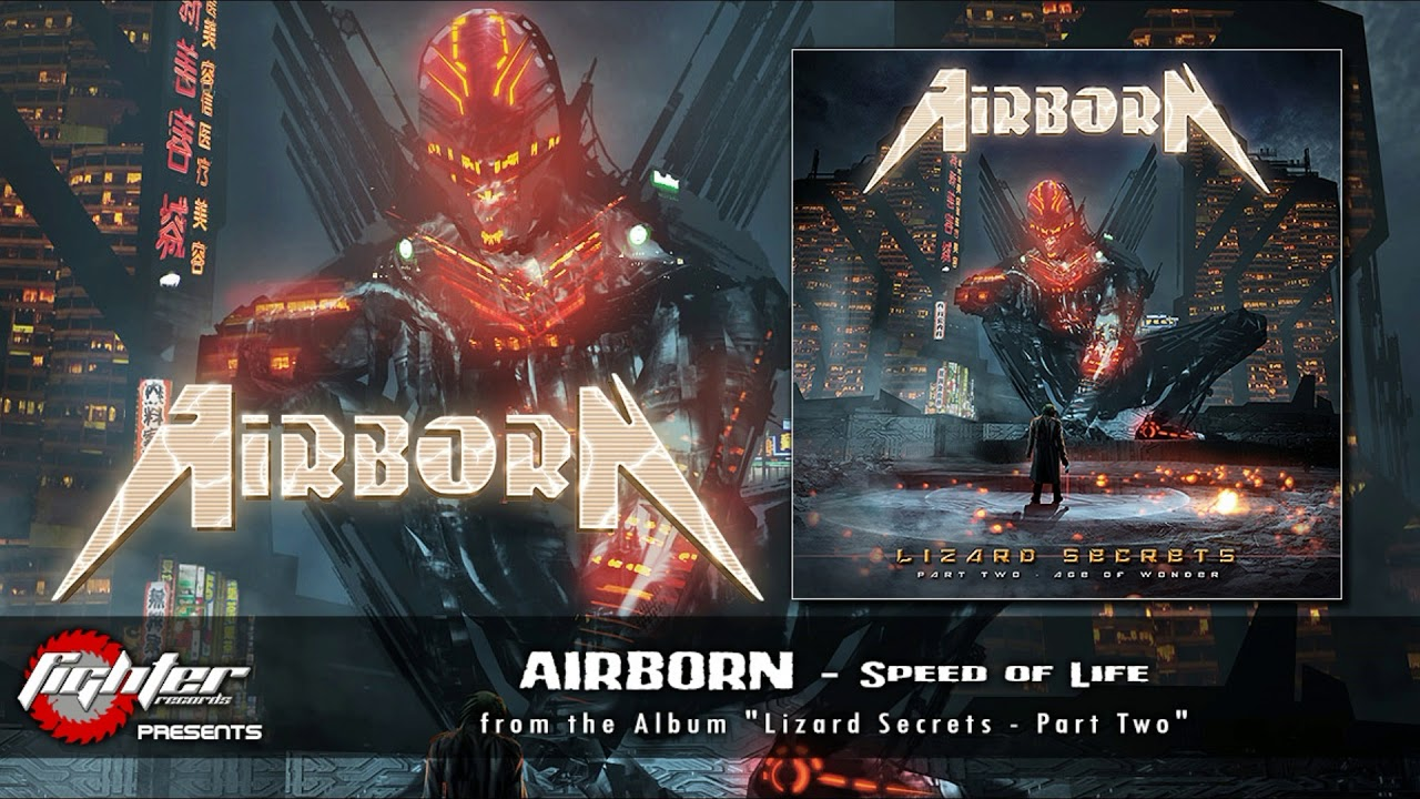 Italian Heavy Metallers AIRBORN sign new deal with Fighter Records and reveal 1st single, cover &