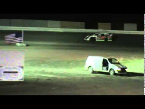 Grayson County Speedway Sport Mod Trophy Dash 4-12-14