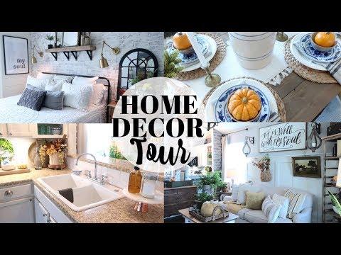 HOME DECOR TOUR 2019 | MY MOM'S HOME TOUR | FARMHOUSE DECOR