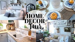 HOME DECOR TOUR 2019 | MY MOM'S HOME TOUR | FARMHOUSE DECOR