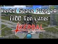 KSP: Kerbal Space Program - 1100 Ton Payload Lifter Demo (and semi-tutorial)