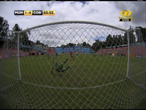 Gol de Ramiro Rocca,  Municipal 1-0 Cobán Imperial