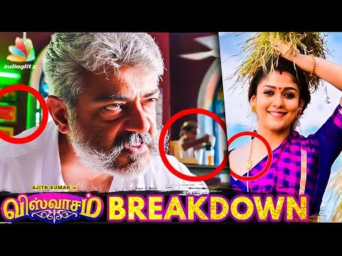 Viswasam Trailer Breakdown | Things You Missed | Ajith Kumar, Nayanthara