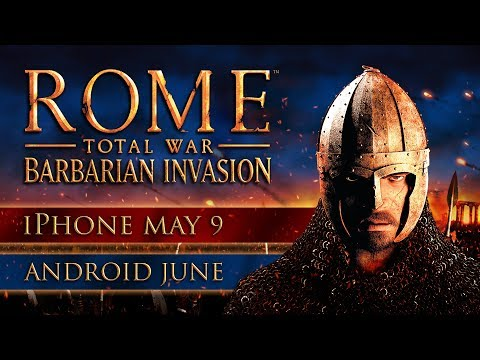 ROME: Total War - Barbarian Invasion out now on iPhone, coming to Android in June