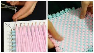 KASNAK LİF ÖRNEĞİ YAPIMI  | How to made loom knitting ?