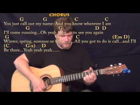 You've Got A Friend (Carole King) Strum Guitar Cover Lesson with Chords/Lyrics