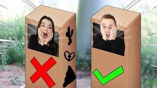 NIE WEJDŹ DO ZŁEGO MYSTERY BOXA! *niebezpieczne*