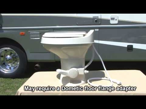 Dometic 300 Series RV Toilet - YouTube