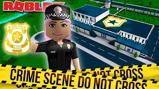 I MADE A POLICE STATION/PRISON | Bloxburg Roleplay | Roblox