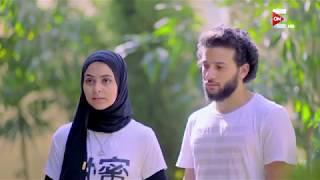 Ninja Warrior بالعربي - ريم الطويل تتحدى زوجها محمد بربري في تخطي المرحلة الأولى من البرنامج