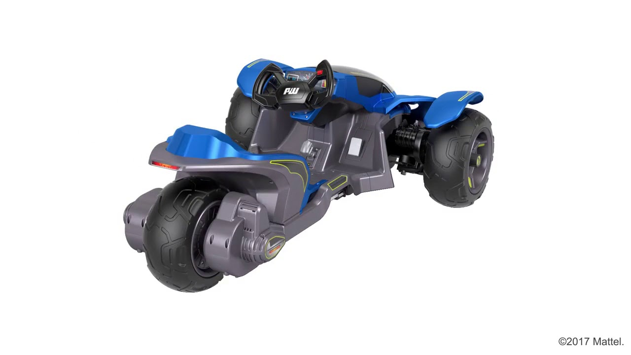 92b9e827ddece Power Wheels Boomerang 12 Volt Ride On - YouTube
