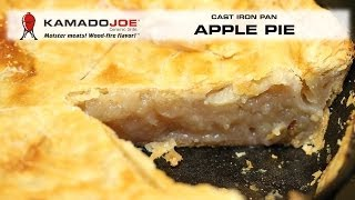Kamado Joe Cast Iron Pan Apple Pie