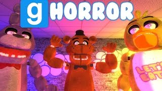 FIVE NIGHTS AT FREDDY'S | GMOD HORROR MAP! | WHERE'S FREDDY?