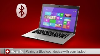 Toshiba How-To: Connecting a Bluetooth device to your Toshiba laptop with Windows 8