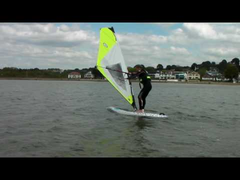 Beginners Windsurfing Lessons - How To Gybe