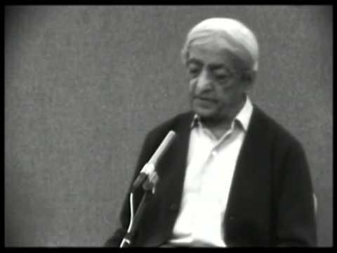 What is freedom? | J. Krishnamurti