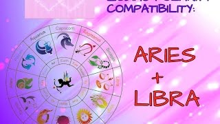 """""""ARIES AND LIBRA"""" ASTROLOGY COMPATIBILITY SERIES """"POLARITY"""" ZODIAC SIGNS"""