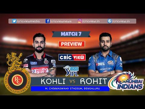 IPL News | Kohli Vs Rohit - Kaun Hai Aapka Favourite ? Kaun Jeetega Aaj? #RCBvMI
