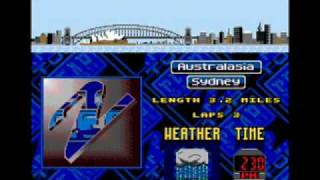 Top gear 2 music -3, Sega Genesis