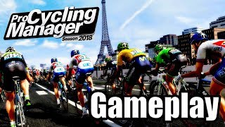 PRO CYCLING MANAGER 2018 (PC) Gameplay - Manager Mode Simulation | I Suck at this LOL!