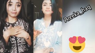 Top tiktok Best videos latest pakistani and Indian ban | tik tok girls areeka videos and  songs