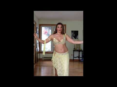 Belly Dancer Cassandra Fox Dances to Drum solo Karsihlagala