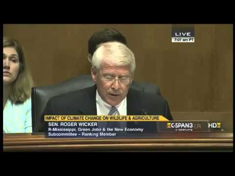 Sen. Roger Wicker: Climate Action Plan Will Hurt Farmers, Foresters, Fishermen