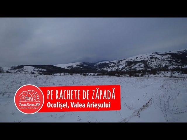 Pe rachete de zăpadă la Ocolișel