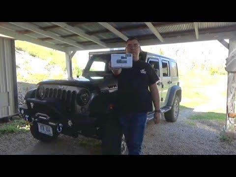 BlackVue DR590W-2CH IR Dash Cam Install Jeep Wrangler JKU