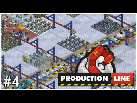 Production Line [Early Access] - #4 - Local Manufacturing - Let's Play / Gameplay / Construction