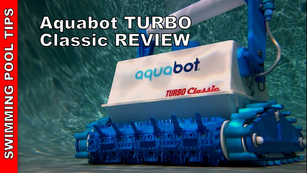 Aquabot Turbo Classic Robotic Pool Cleaner - Review - YouTube