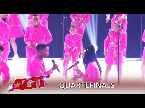 Ndlovu Youth Choir: South African Group Has Message Of LOVE To America   America's Got Talent 2019