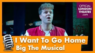 Jay McGuiness performs I Want To Go Home - Big The Musical