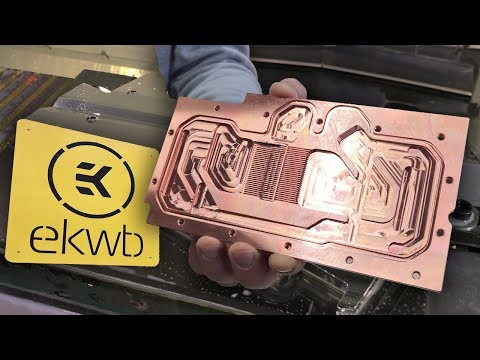 EKWB Factory Tour (re-upload) - See How Water Blocks Are Made! | bit-tech Modding