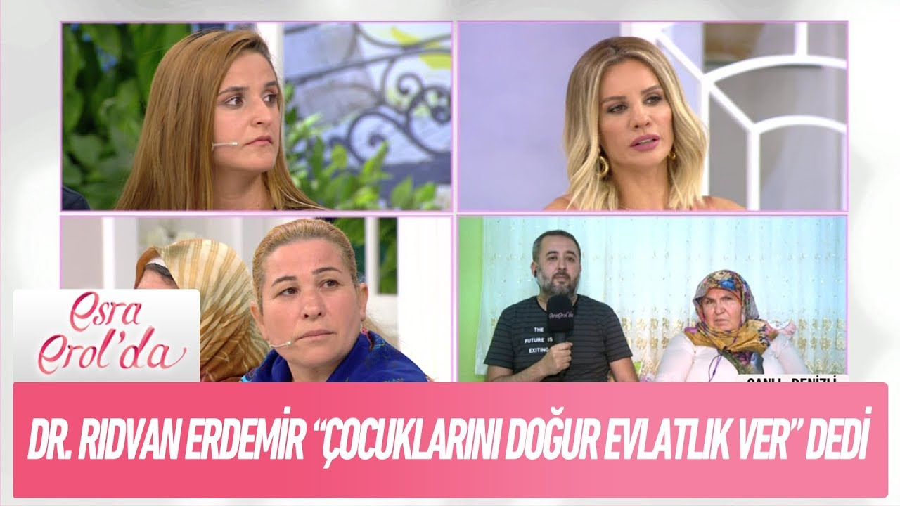 """Download Dr. Rıdvan Erdemir """"çocuklarını doğur evlatlık ver"""" dedi - Esra Erol'da 28 Eylül 2018"""