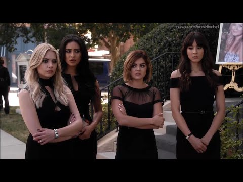 """Pretty Little Liars - Charlotte Dies/Funeral - 6x11 """"Of Late I Think Of Rosewood"""""""