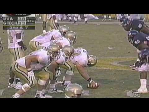 1998 Georgia Tech vs Virginia Radio Highlights