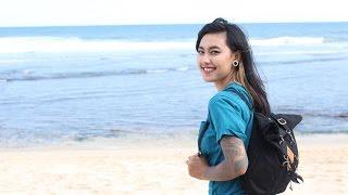 VLOG #2 Virginia Obed , Pantai Watu Kodok - Yogyakarta