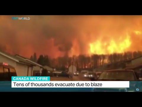 Canada wildfire has burned area bigger than New York City, Sean Mallen reports