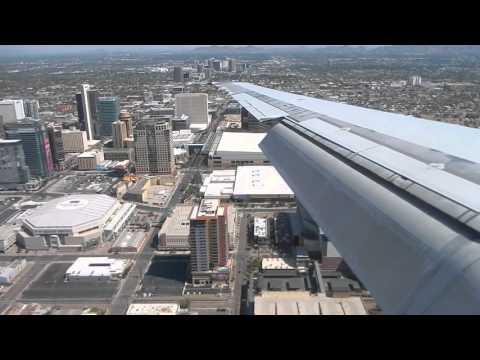 Delta Airlines MD-90 [N949DN] Landing Phoenix Sky Harbor International Airport