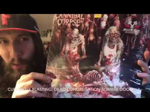 VITAL VINYL VLOG:AWESOME ALBUMS - EPISODE #3: CANNIBAL CORPSE-BUTCHERED AT BIRTH