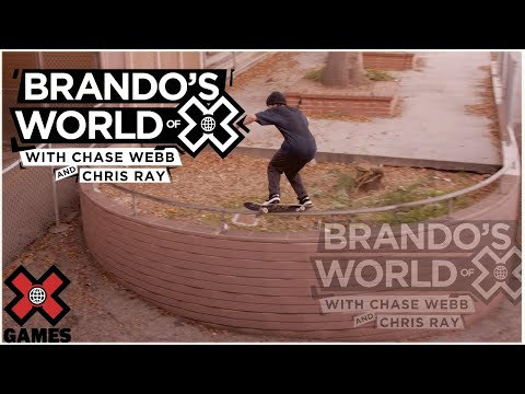 PRANKING CHASE WEBB AND CHRIS RAY: Real Street 2020    World of X Games