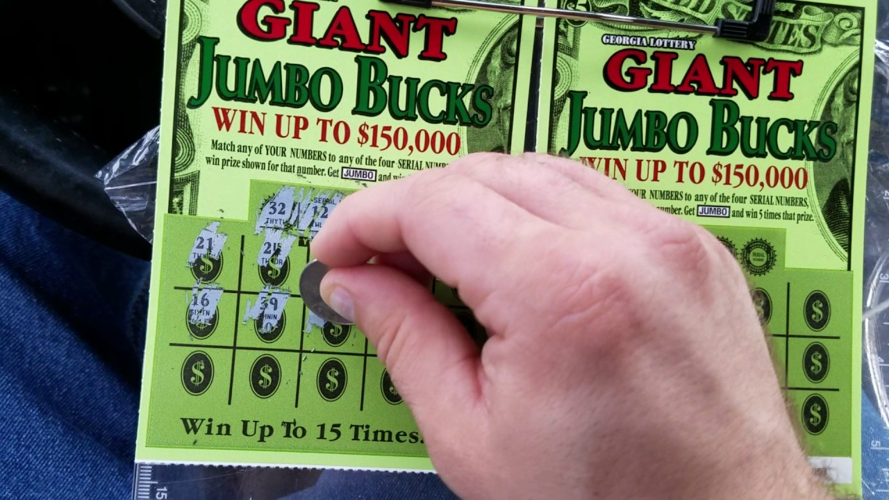 Ga lottery jumbo bucks prizes