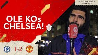 OLE KOs CHELSEA! | CHELSEA 1 MAN UTD 2 | - Adam McKola Fancam
