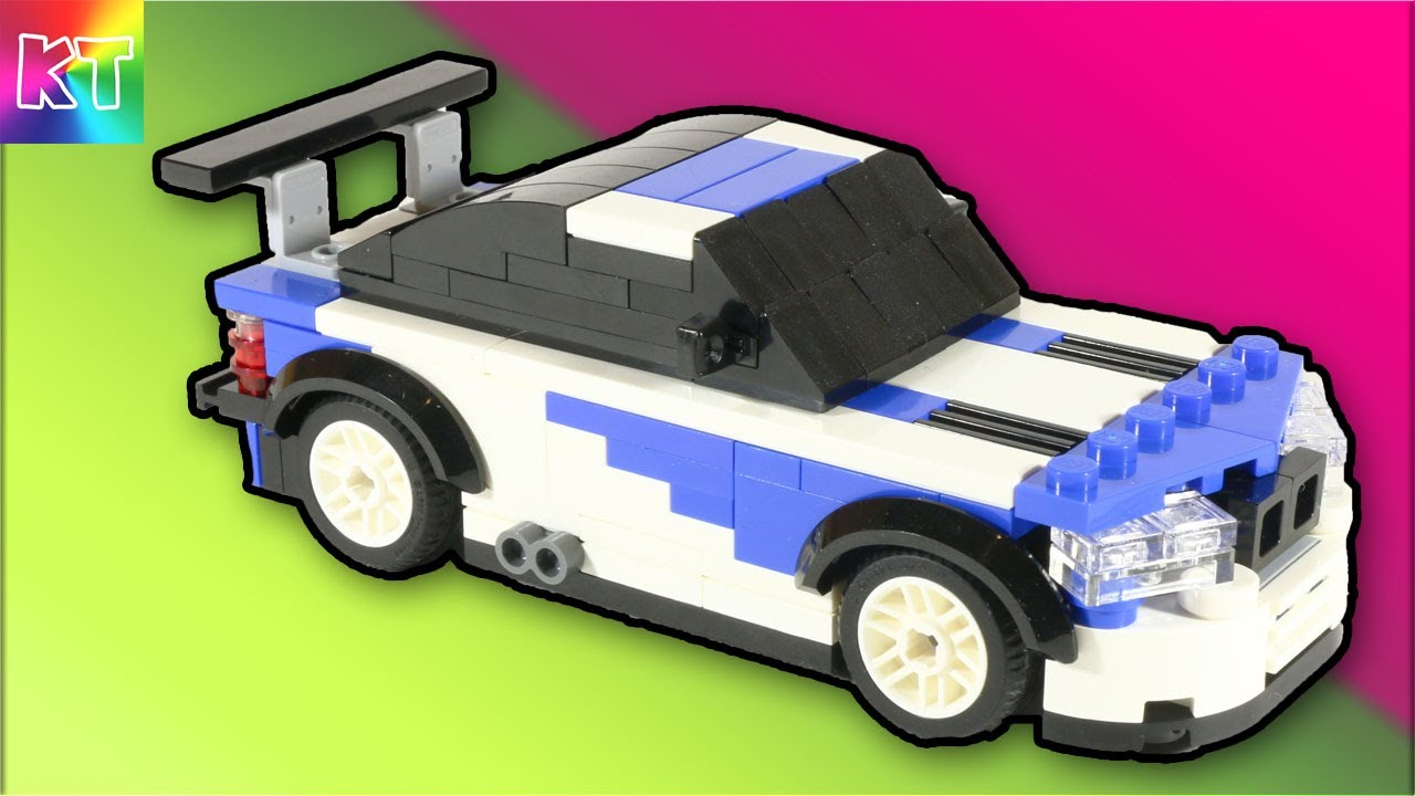 Lego Bmw M3 Gtr Cars For Kids Speed Build Review Youtube