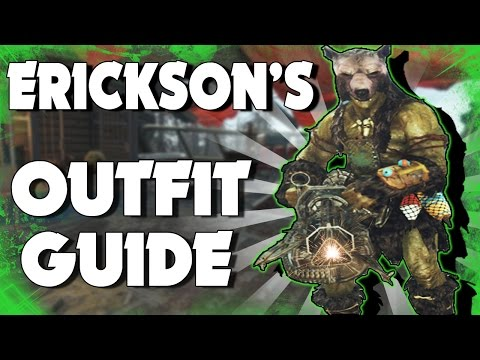 Fallout 4 Far Harbor - HOW TO GET ERICKSON'S UNIQUE OUTFIT! (Fallout 4 Unique Armor)