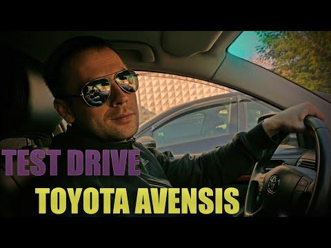 TOYOTA AVENSIS // Долгожданный TEST DRIVE #СЕНЯ
